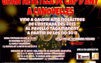 Cap d'any a Canovelles